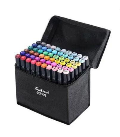 Набор двусторонних скетч-маркеров для рисования (36шт)