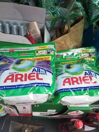 Niemieckie Kapsułki  Ariel Color i Universal 75 sztuk