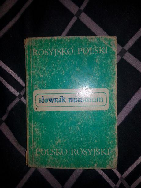 książka słownik języka rosyjskiego