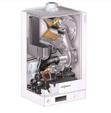 Viessmann VITODENS 100-200W, Kotły gazowe, przyłącze, montaż, serwis