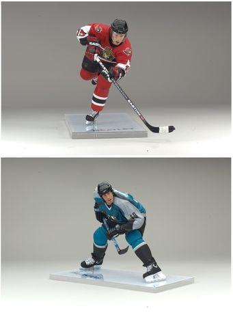 Фігурки хокеїстів НХЛ: Торнтон, Хітлі, McFarlane NHL Series 13