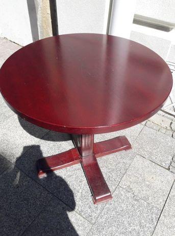 stoły drewniane - okrągłe, kwadratowe