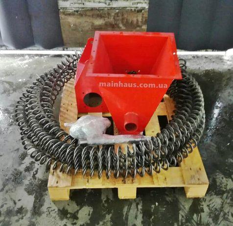 спецтехника гибкий шнек спиральный погрузчик транспортер пеллеты 90