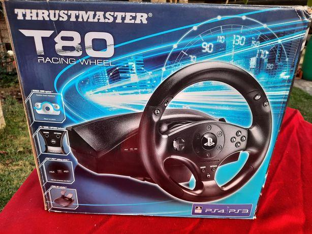 ThrustMaster Racer Wheel T80 , volante para ps3 e ps4.
