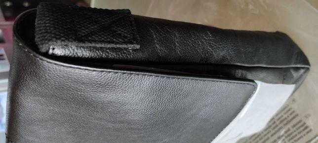 Nowa Torba skórzana listonoszka jakość 33 x 27 x 7 cm Jakość