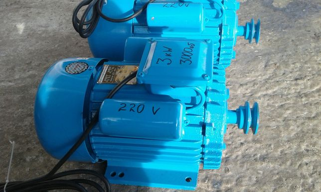 Електродвигун 2.2 , 3, 4 кВт 220В электродвигатель электромотор