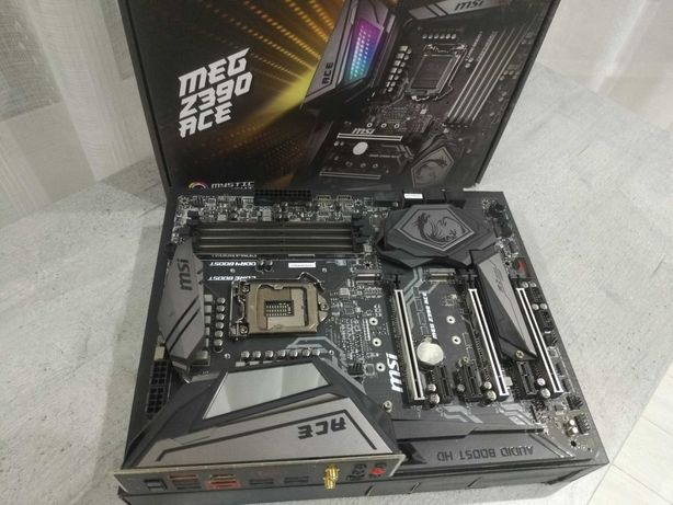 Материнская плата MSI MEG Z390 Ace (s1151, Intel Z390, PCI-Ex16)