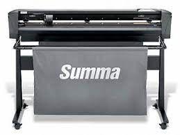 Ріжучий плоттер Summa Cut D120R з системою OPOS-X