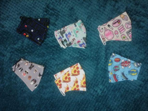 Małe maseczki dla dzieci