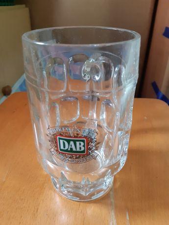 Kufel na piwo - szklany