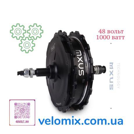 Мотор 350W. Мотор 500W. Мотор-колесо FAT BIKE 750W. Электронабор