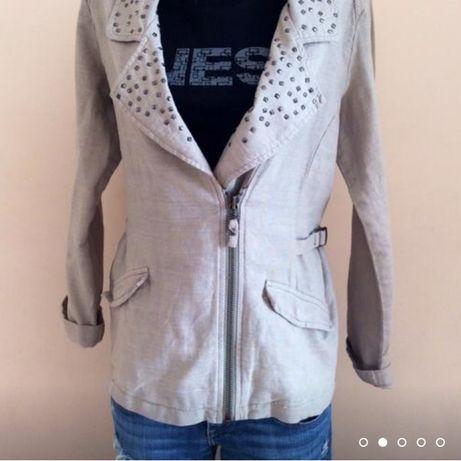 Пиджак косуха лен