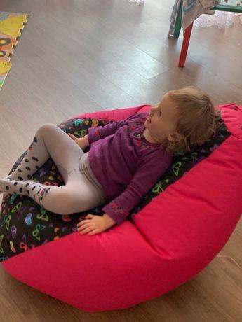 Мягкий бескаркасный Кресло мешок для для детей Кресло Груша Мягкий пуф