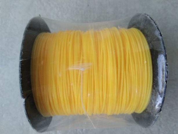 леска ярко-желтого цвета HARDY 0,8мм--100м.