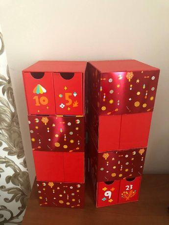 Шкатулка с ящиками фирмы loccitane для косметики или бижутерии