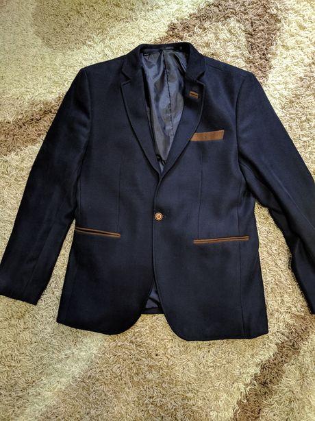 Пиджак темно синий мужской