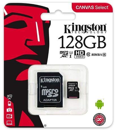 Cartões De Memoria Kingston (16, 32, 64, 128GB)