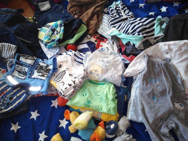 Mega paka ubrań dla chłopca w rozm 68_74