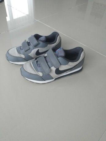 Buty adidasy  Nike dla chłopca jak nowe rozmiar 33 szare