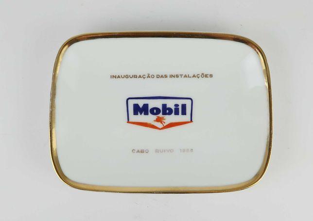 Covilhete publicitária Vista Alegre - Mobil 1956