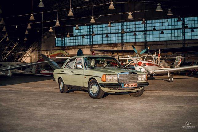 Piękny Klasyczny Mercedes W123/ Auto do ślubu/ WYNAJEM