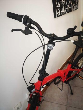 Bicicleta dobrável btwin