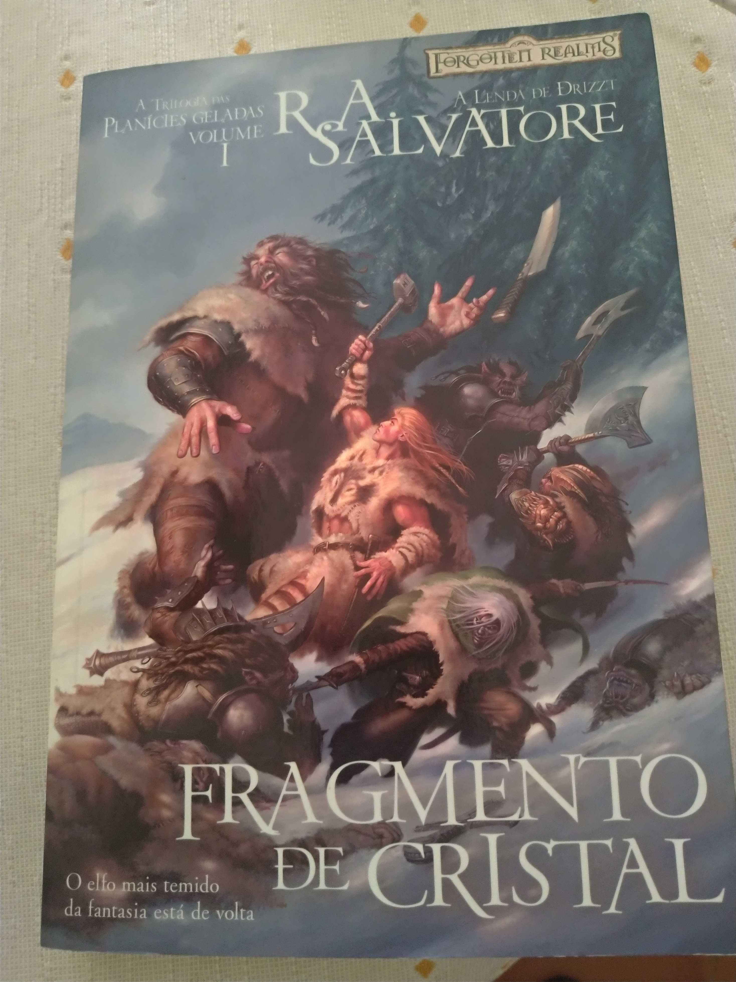 Fragmento de Cristal A Trilogia das Planícies Geladas - Volume I