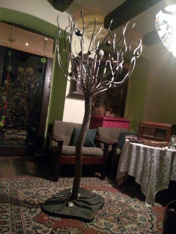 SUPER CENA Drzewo z metalu ręczna robota wys.160 cm.