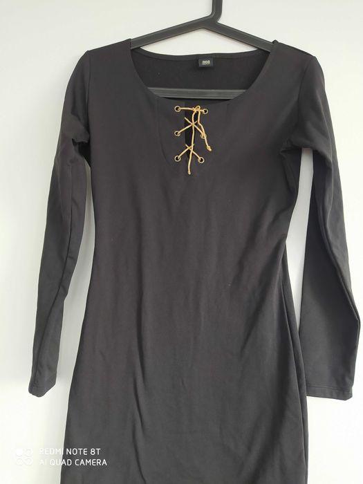 Czarna krotka sukienka Wadowice - image 1
