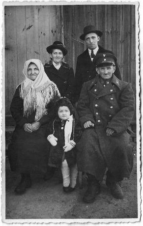 Stare zdjęcia rodzina żołnierz