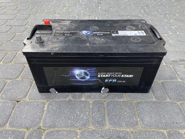 Akumulator ciężarówka Mercedes-Benz! 1150 A, 220 Ah! Start-Stop!