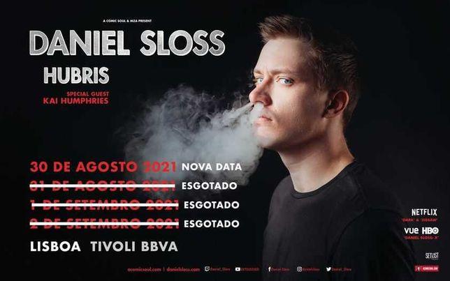 Vendo 2 bilhetes para o espectáculo do Daniel Sloss (30 de Agosto)