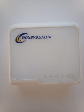 Wi-fi роутер,повербанк  интертелеком