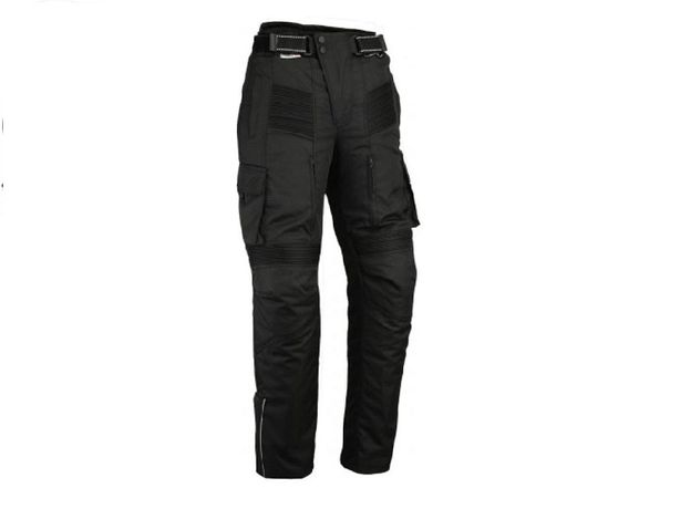 Брюки штани Мотоциклетные черные , водонепроницаемые Bikers Gear