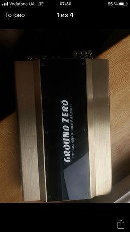 Продам 4-х канальный усилитель Ground zero  GZIA  4115 HPX