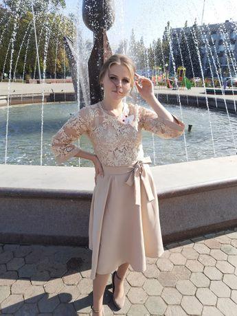 Продам платье миди