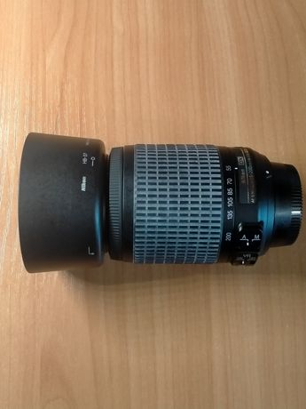 Объектив Nikon Nikkor AF-S DX 55 - 200mm 1:4 - 5.6G ED
