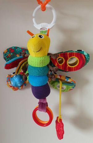 Motylek Freddie Tomy Lamaze Zawieszka pluszowa Motyl do wózka