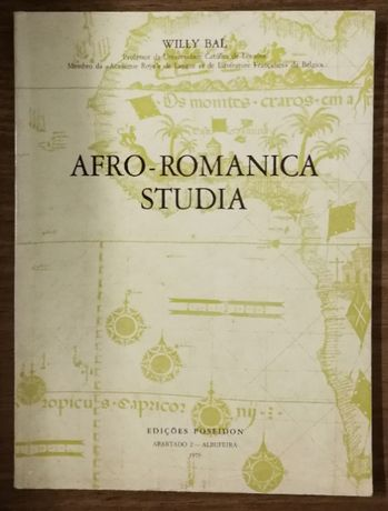 afro-romanica studia, willy bal, edições posseidon