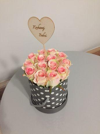 Flower box, dzień babci dzień dziadka, prezent