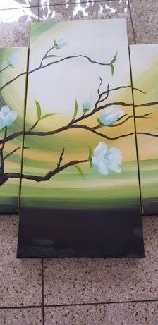 Obraz 5 części malowany na płótnie