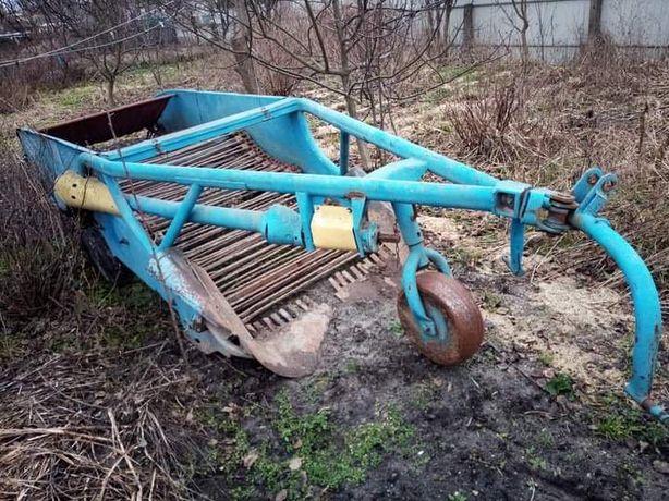 Продам дворядний картоплекопач Z 609/2 фірми Agromet ( Польща ) в Р.Ст