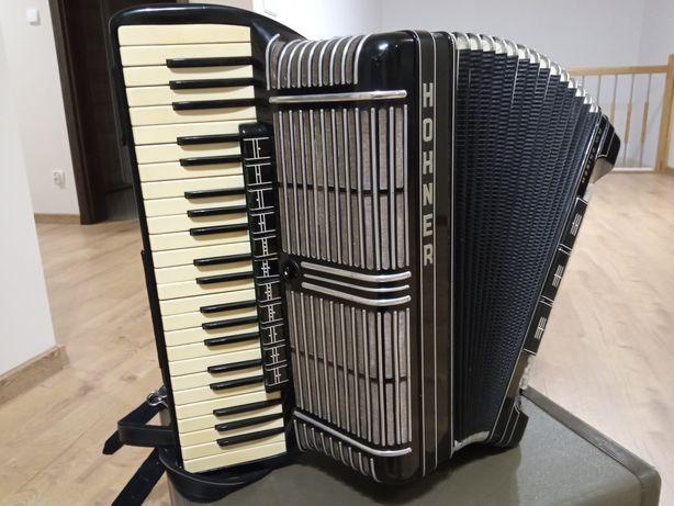 Akordeon Hohner Morino VIM 185 z barytonami kanałowy