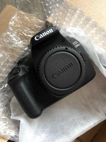 NOWY Canon EOS 2000D + dwa obiektywy 18-55 i 75-300 mm