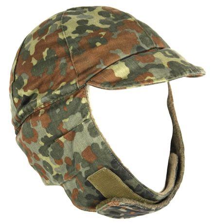 Зимняя шапка,кепка флектарн,бундесвер,Германия