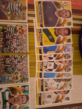 Cromos de futebol (Benfica e Sporting)