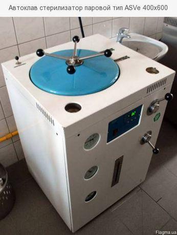 Автоклав стерилизатор 100л ASVе 400x600 - полуавтоматический 1 штука