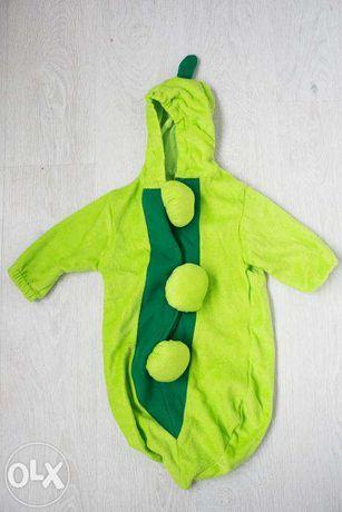 Детский костюм спальный мешок Горошина, 0-8 мес