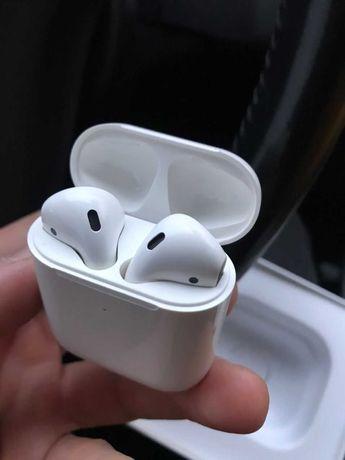Беспроводные наушники Apple Airpods 2 качество люкс