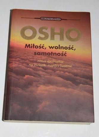 OSHO Miłość wolność samotność książka motywacja medytacja